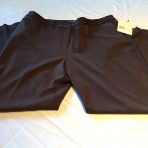 Studio By Liz Claiborne Petite 16 Brown Pants